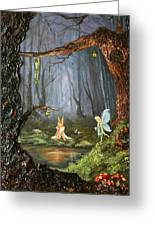 The Secret Forest Greeting Card