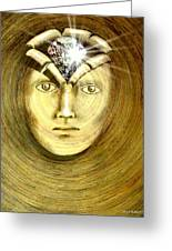 The Secret Of Existence Whereby We Were Created  Greeting Card by Paulo Zerbato