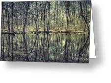 The Sentient Forest Greeting Card
