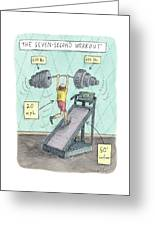 The Seven Second Workout Greeting Card