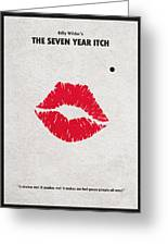 The Seven Year Itch Greeting Card