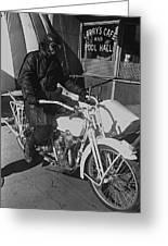 The Shadow Of The Eagle Homage 1932 Jack Wilson Stuntman Globe Arizona 1969 Greeting Card