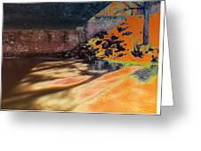 The Shadows Under The Bridge Greeting Card