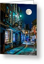 The Shambles Street In York U.k Hdr Greeting Card