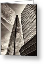 The Shard - The View Greeting Card