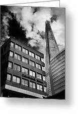 The Shard From Tooley Street Greeting Card
