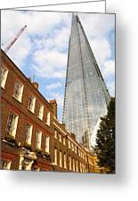 The Shard In London Greeting Card