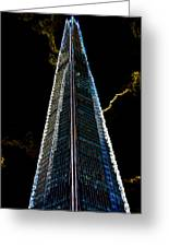 The Shard London Art Greeting Card