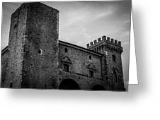 The Shattered Fortress Greeting Card
