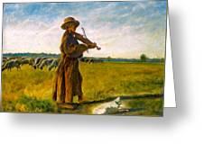 The Shepherd Greeting Card