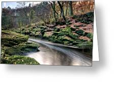 The Shimmering Strid Greeting Card