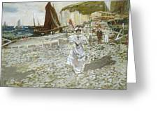 The Shingle Beach Greeting Card by James Kay