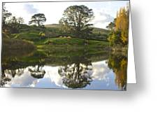 The Shire Middle Earth Greeting Card