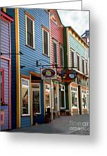 The Shops In Crested Butte Greeting Card