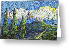 The Shores Of Dreams Greeting Card