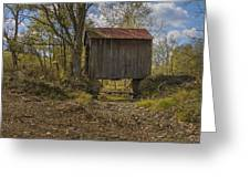 The Shortest Covered Bridge I Have Seen Greeting Card