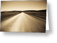 The Side Road 2 Greeting Card