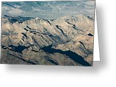 The Sierra Nevadas Greeting Card
