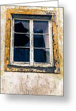The Signs Of Time Ponta Delgada Azores Greeting Card