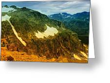 The Silent Mountains Greeting Card
