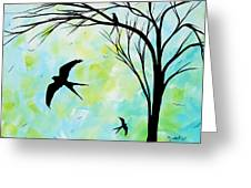 The Simple Life By Madart Greeting Card
