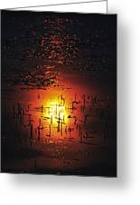The Sinking Sun Greeting Card