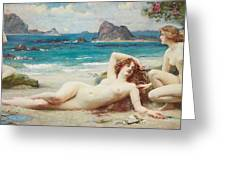 The Sirens Greeting Card