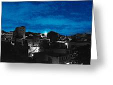 The Sky And The Night Greeting Card