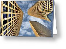 The Sky Is The Limit Greeting Card by Ron Shoshani