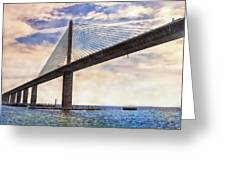 The Skyway Greeting Card