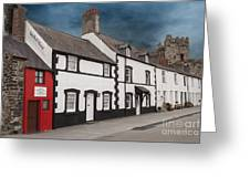 The Smallest House In Great Britain Greeting Card