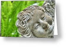 The Smiling Angel Buffalo Botanical Gardens Series Greeting Card