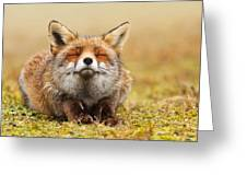 The Smiling Fox Greeting Card