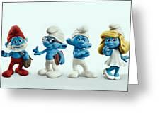 The Smurfs Movie Greeting Card