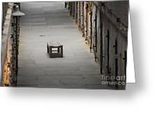 The Solitary Seat Greeting Card