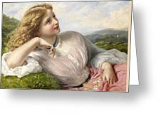 The Song Of The Lark Greeting Card