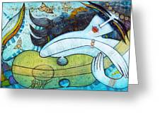 The Song Of The Mermaid Greeting Card