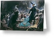 The Souls Of Acheron Greeting Card