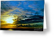 The Sound Of Sky Greeting Card by Q's House of Art ArtandFinePhotography