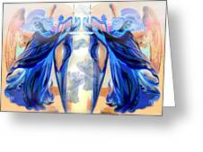 The Sounds Of Angels Greeting Card