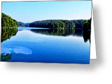 The Source Of Lake Ripples 02 Greeting Card