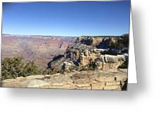 The South Rim In The Winter Greeting Card