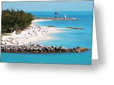 The Southernmost Non-free Beach Greeting Card