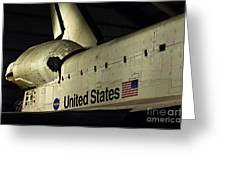 The Space Shuttle Endeavour 12 Greeting Card