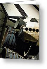 The Space Shuttle Endeavour At Its Final Destination 26 Greeting Card