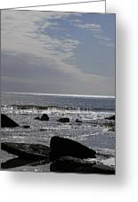 The Sparkling Sea Greeting Card