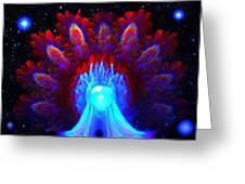 The Spectral Crown Greeting Card
