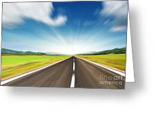The Speed Greeting Card by Boon Mee
