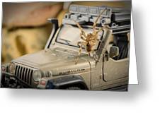 The Spider Series IIi Greeting Card