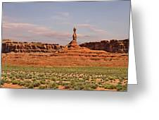 The Spindle - Valley Of The Gods Greeting Card